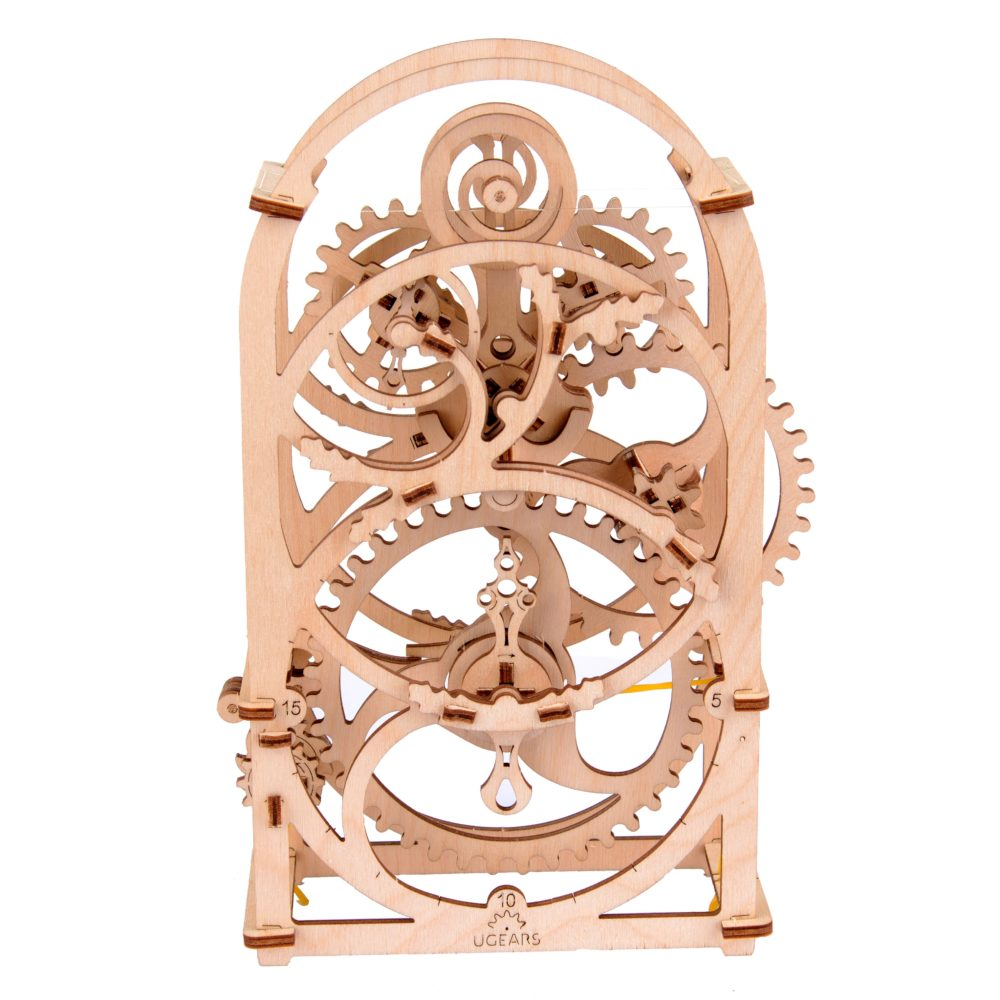 UGears Mechanical Wooden Model 3D Puzzle Kit Timer