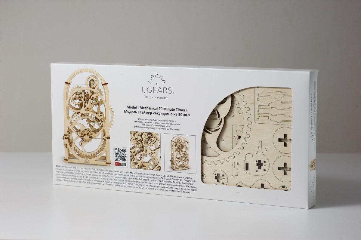 UGears Timer Wooden 3D Model 2560