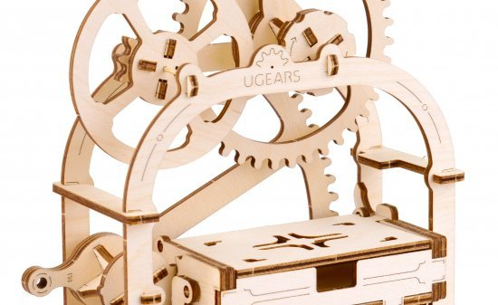 Ugears Business Card Holder