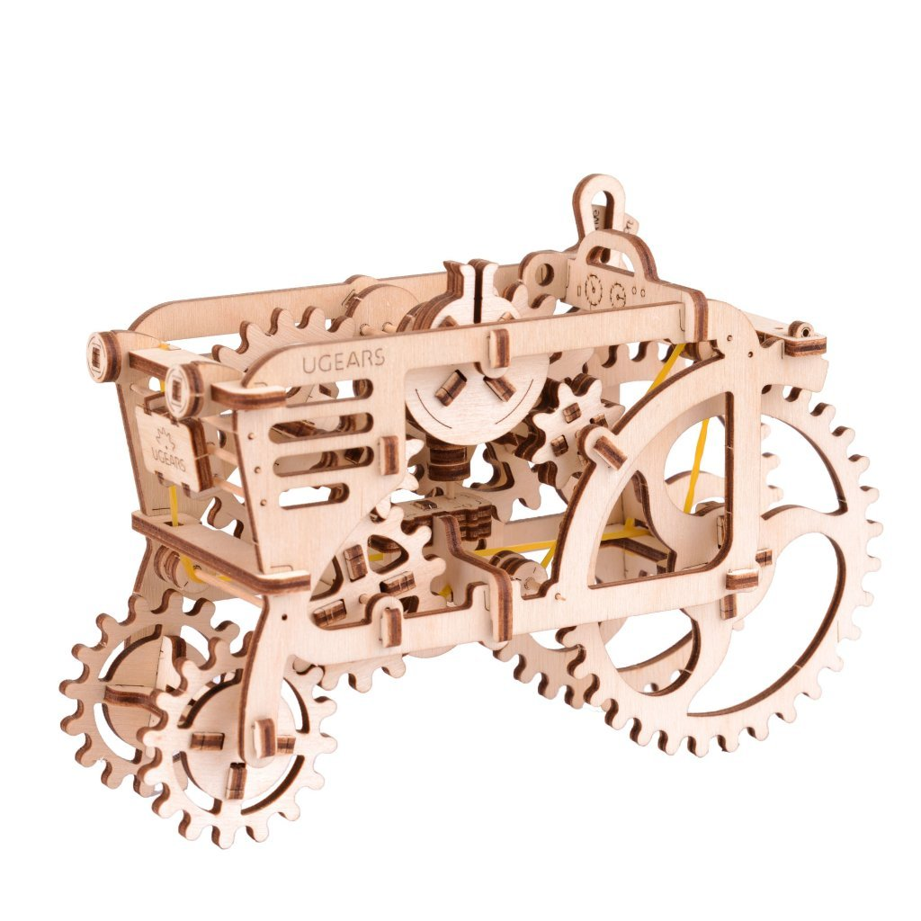 How does UGEARS TRACTOR AND TRAILER model work? 2