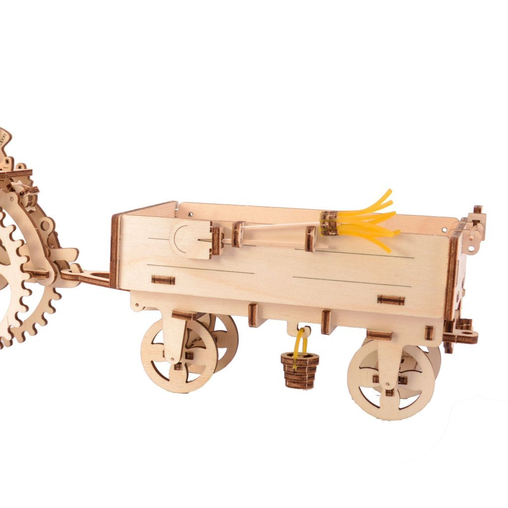 How does UGEARS TRACTOR AND TRAILER model work? 1