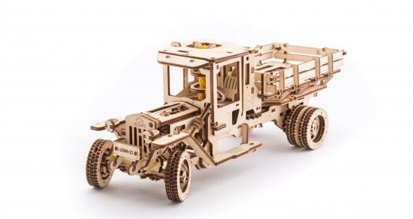 UGears Mechanical Wooden Model 3D Puzzle Kit UGM 11 Truck