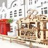 UGears Tram On Rails Wooden 3D Model