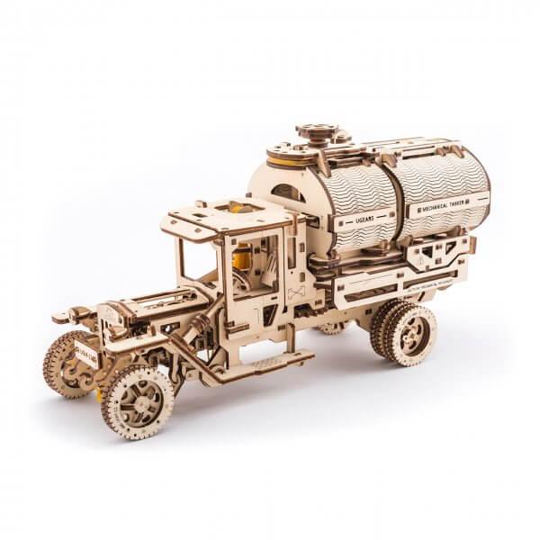 UGears Mechanical Wooden Model 3D Puzzle Kit Tanker