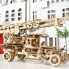 UGears Fire Truck with Ladder Wooden 3D Model 2618