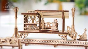 Ugears is happy to present the first  model from the new Mechanical Town Series- Tram Line 2