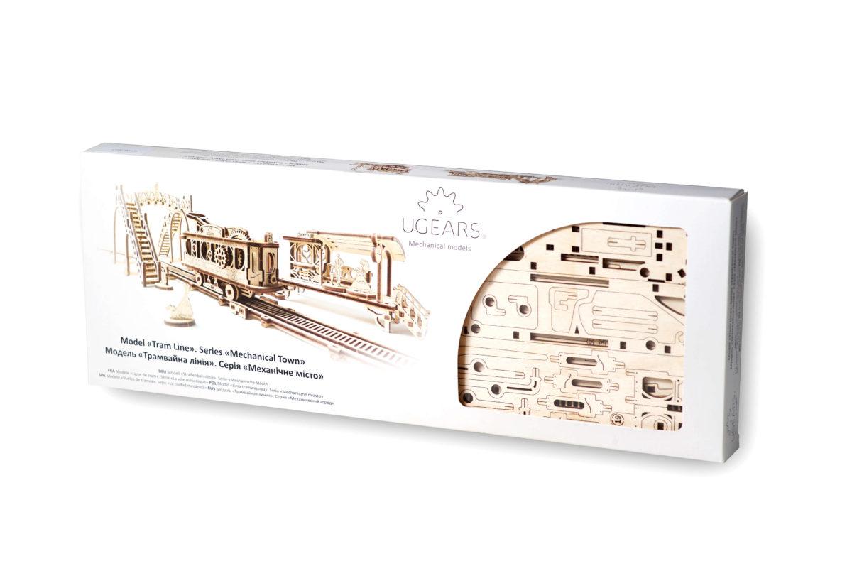 Ugears Tram Line Model