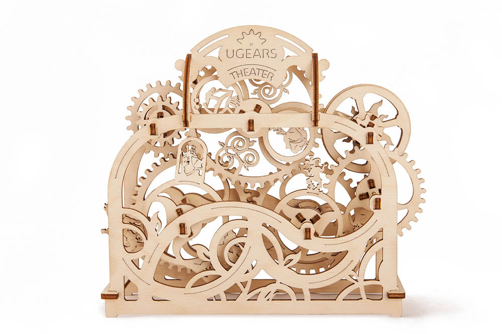 UGears Mechanical Wooden Model 3D Puzzle Kit Theater