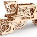 UGears Mechanical Wooden Model 3D Puzzle Kit Combine Harvester