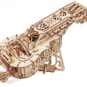 UGears Mechanical Wooden Model 3D Puzzle Kit Hurdy-Gurdy