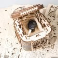 UGears Mechanical Wooden Model 3D Puzzle Kit Treasure Box