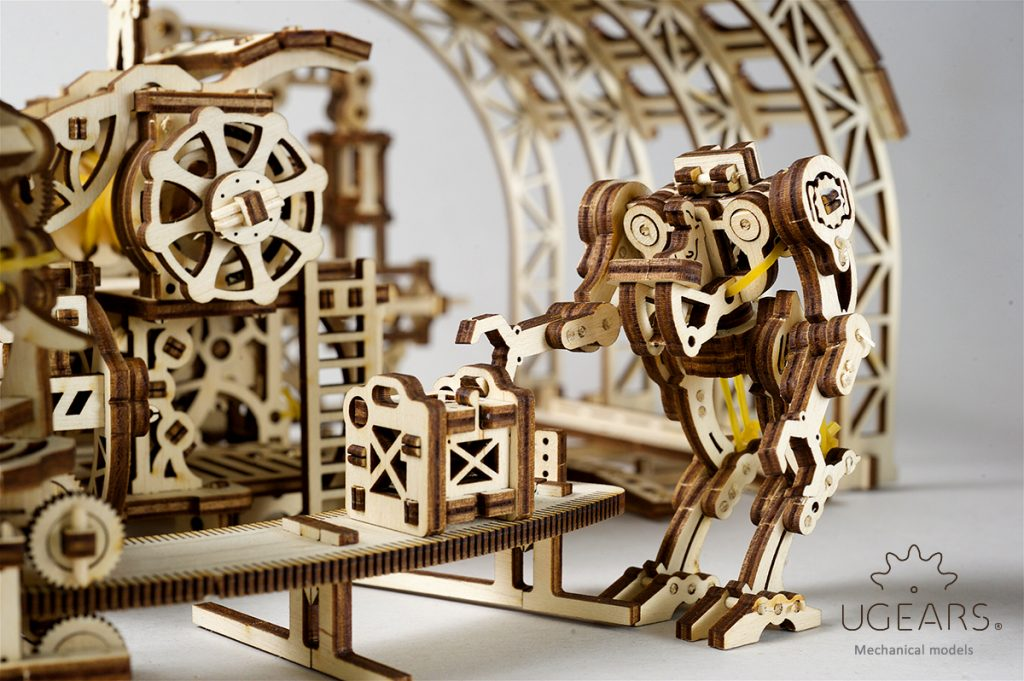 UGears Mechanical Town series - build your own mini-town! - UGears USA 1
