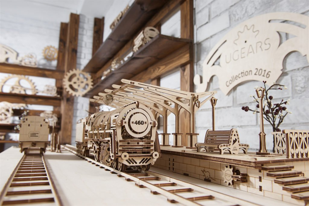 UGears Mechanical Town series - build your own mini-town! - UGears USA 2