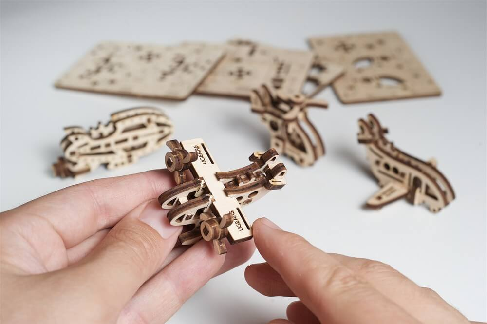 Which UGears 3-d puzzles are great to use in everyday life. 2
