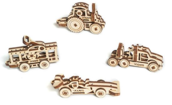 UGears U-Fidgets-Tribiks Vehicles