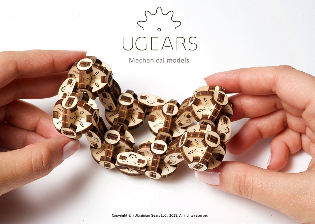 UGEARS Flexi-Cubus – a great stress reliever! 2