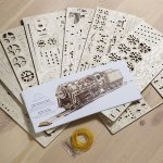 Create a Wild West atmosphere with UGEARS Stagecoach 3