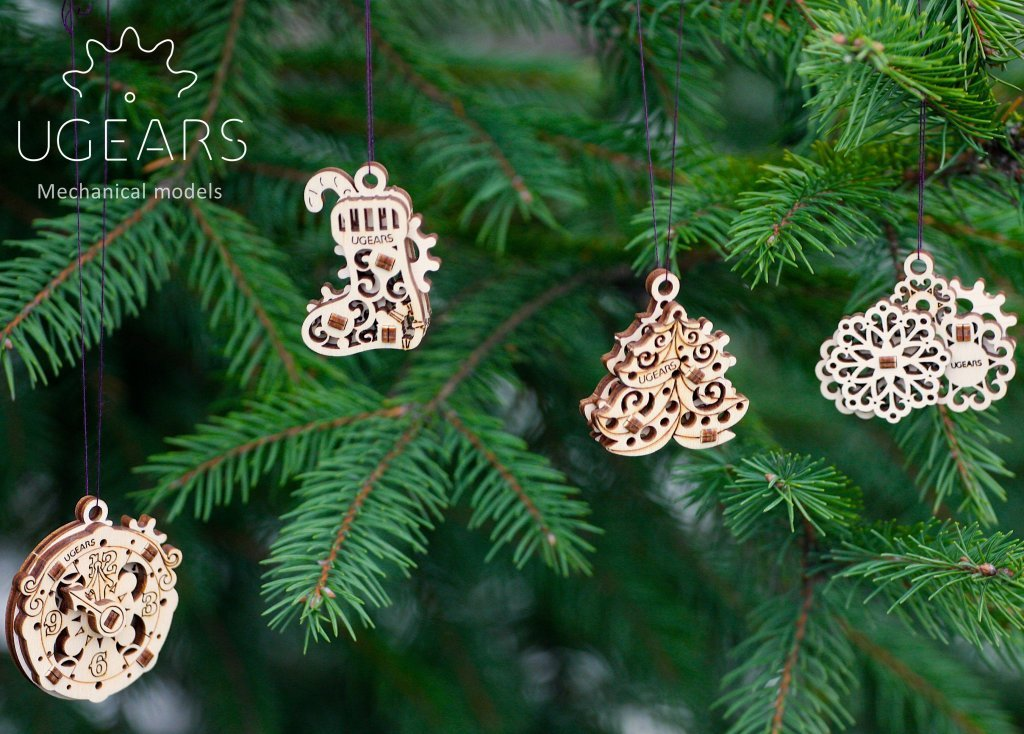 New collection from UGears, the U-Fidget Happy New Gears. | UGears USA 1
