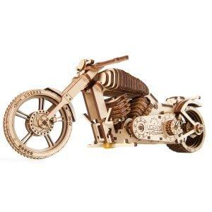 UGears Mechanical Wooden Model 3D Puzzle Kit Bike VM-02