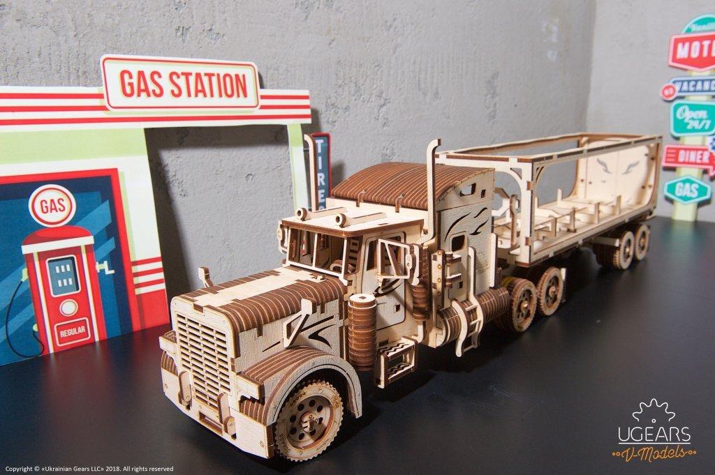 UGEARS new item - Heavy Boy Truck VM-03 - UGears USA 1