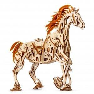UGears Mechanical Wooden Model 3D Puzzle Kit Horse Mechanoid