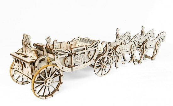 UGears Royal Carriage