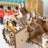 UGears Royal Carriage Wooden 3D Model 15853