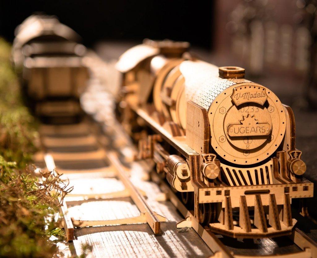 460 Steam Locomotive and V-Express Steam Train! 1