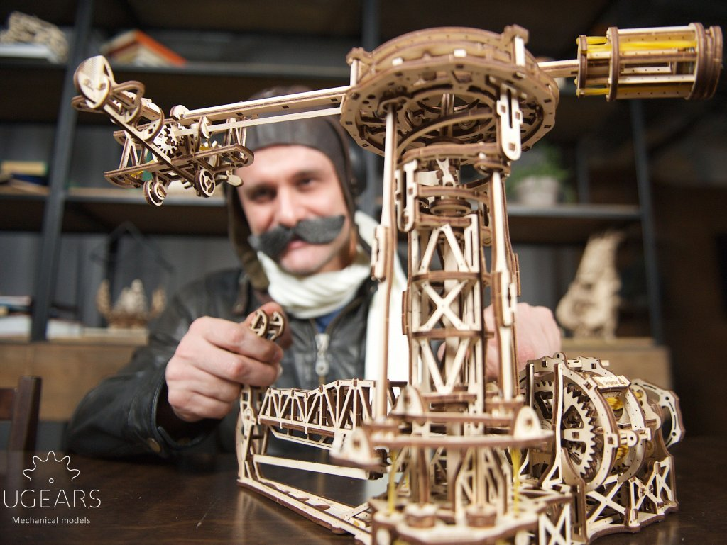 UGears Aviator - make your dreams of flying come true! 1