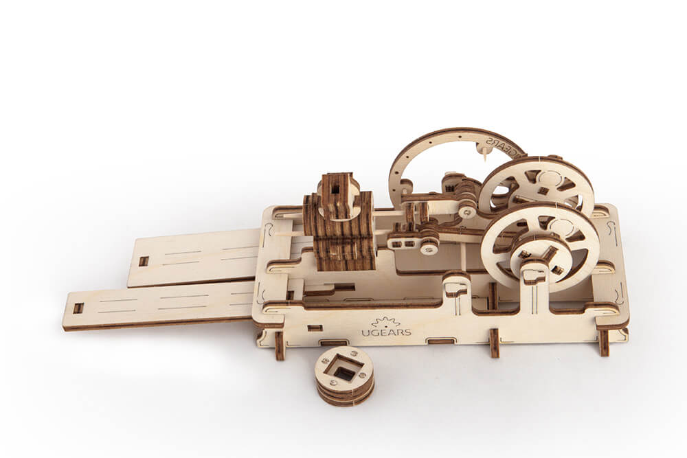 Fun mechanics from UGears Pneumatic Engine 1