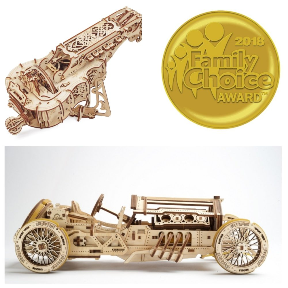 UGears models are the Winners of a 2018 Family Choice Award pic