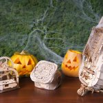 Halloween decor and gift ideas from UGears image