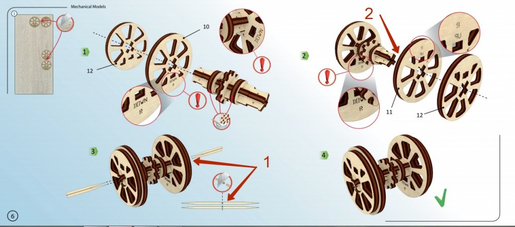 Why should you choose UGears 3-d sets? 1