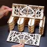 UGears Mechanical Wooden Model 3D Puzzle Kit Card Holder