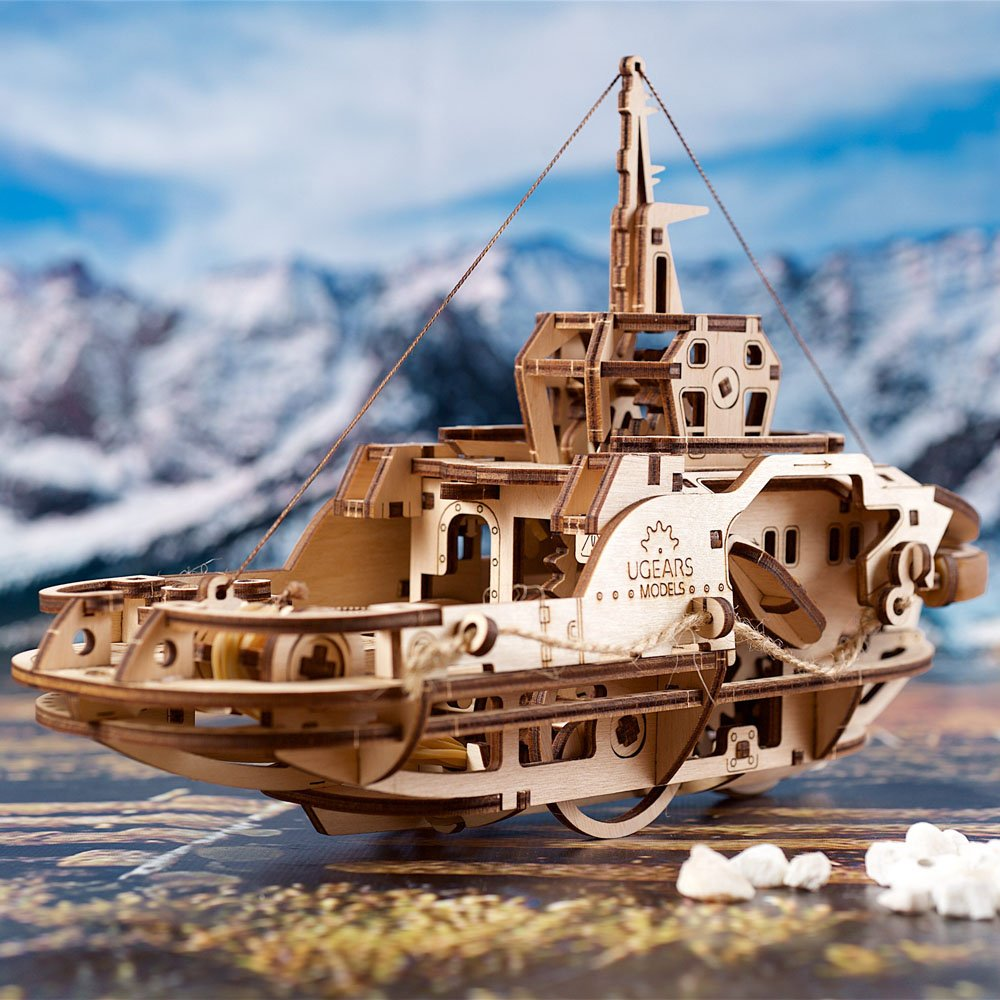 UGears Tugboat: a maritime novelty! 1