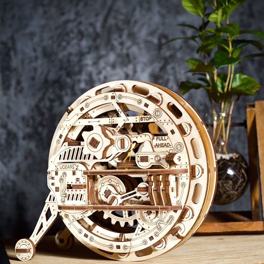 Another novelty by UGears: the Monowheel model 1