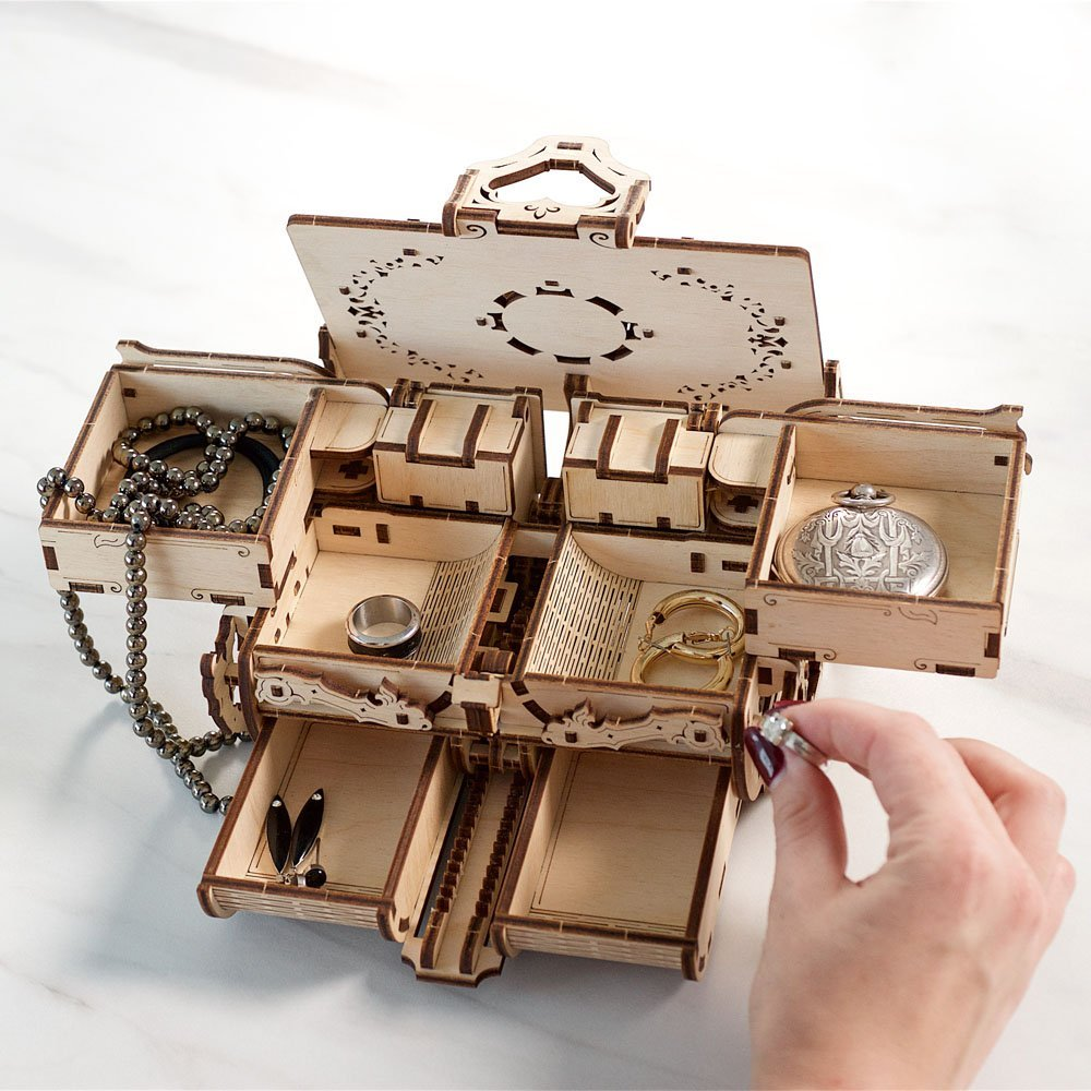 GIFT IDEA: UGears Antique Box.