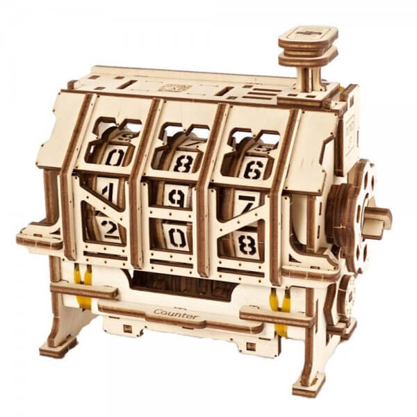 UGears Mechanical Wooden Model 3D Puzzle Kit STEM LAB Сounter