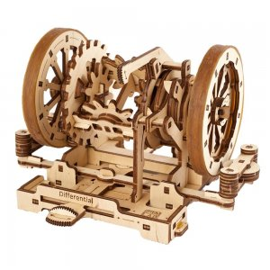 UGears Mechanical Wooden Model 3D Puzzle Kit STEM LAB Differential