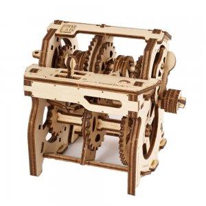 UGears Mechanical Wooden Model 3D Puzzle Kit STEM LAB Gearbox