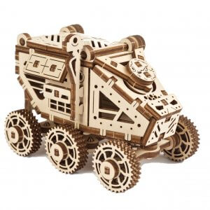 UGears Mechanical Wooden Model 3D Puzzle Kit Mars Buggy