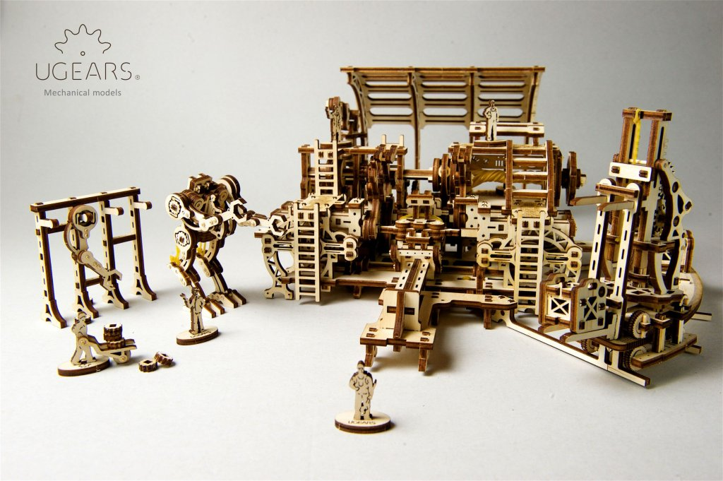 Best 3d Puzzles for Small Groups. Part 1 | UGears USA 3