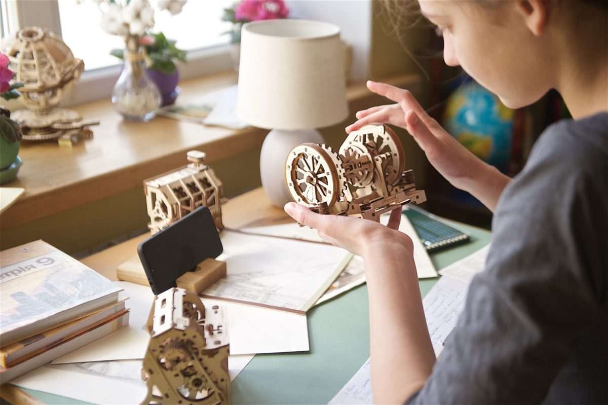 Differential-Ugears-STEM-lab-model-kit