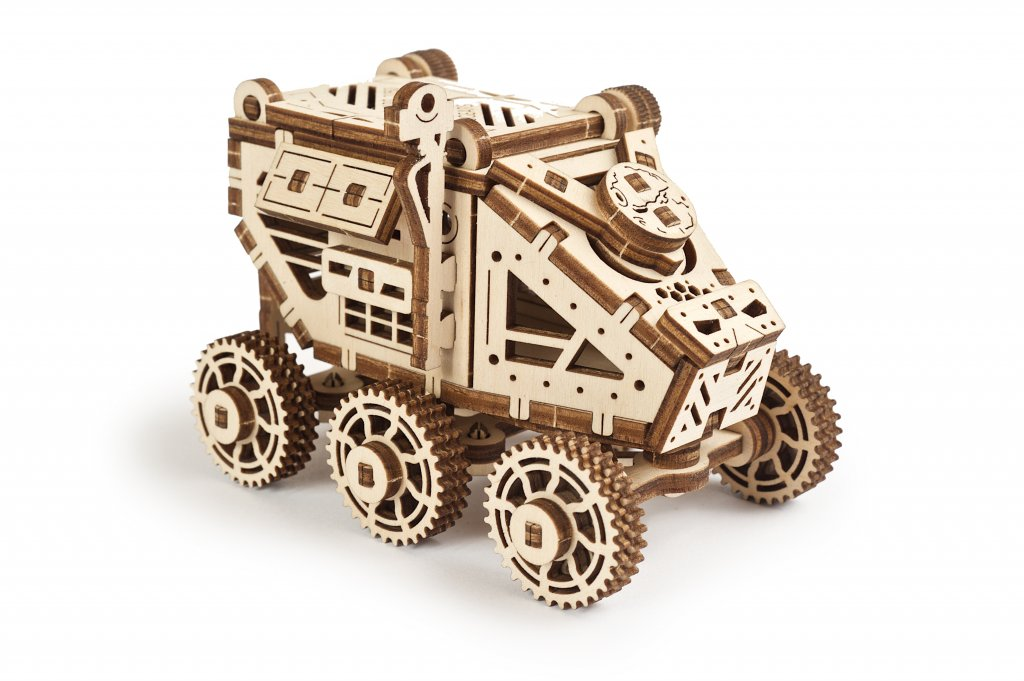 New May releases by UGears: Globus, Carousel, Mars Buggy 2