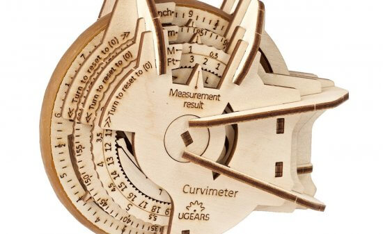 Ugears STEM lab Curvimeter