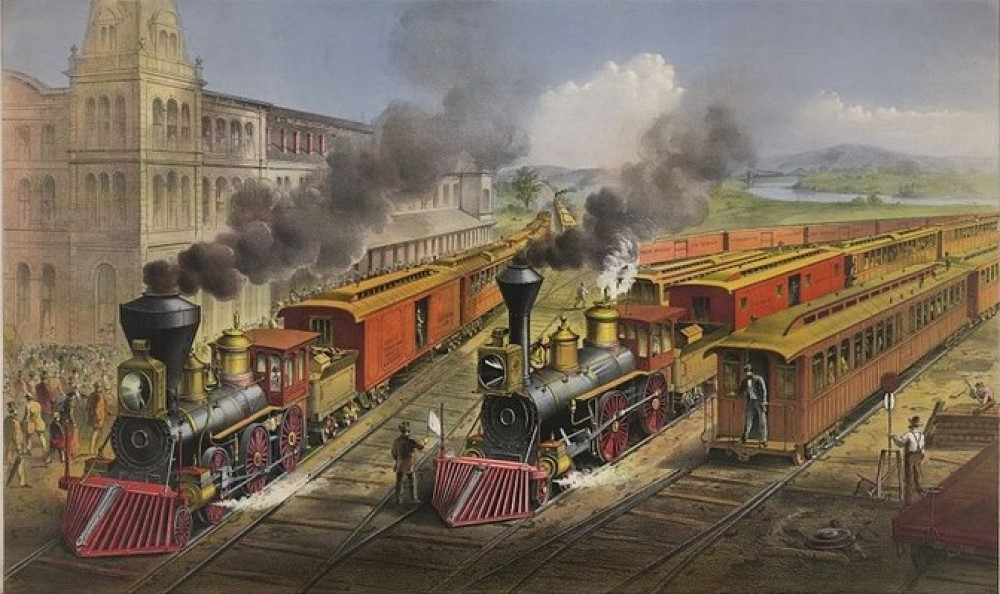 Does the US really owe its existence to railroads? 8