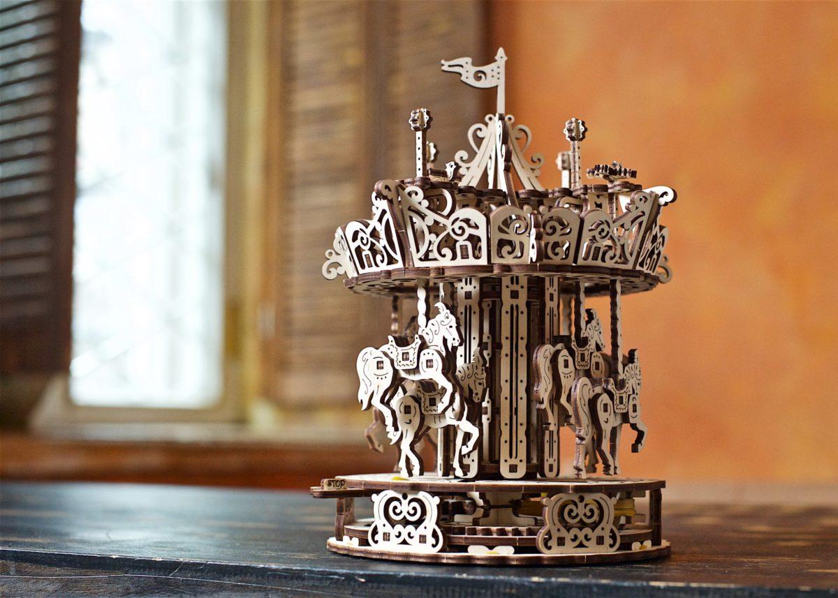 Fantasy Carousel for romantic dreamers 1