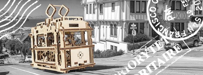 wooden mechanical models