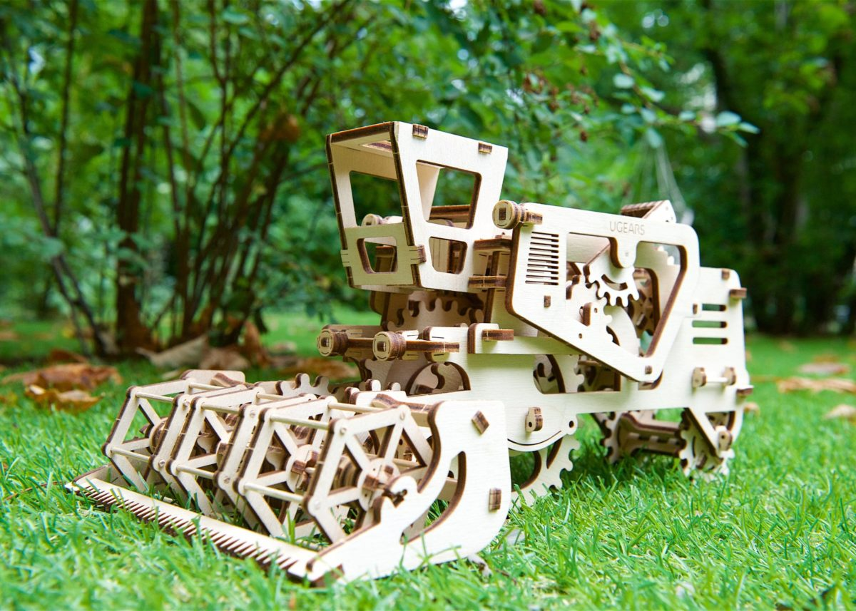 3D puzzles greening the planet