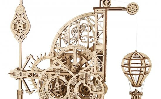 Ugears Aero Wall Clock